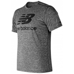 NEW BALANCE KOSZULKA CORE GRAPHIC HEATHERED T BKH