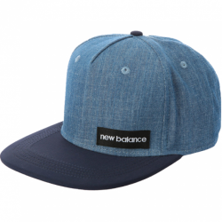 NEW BALANCE CZAPKA CHAMBRAY 5 PANEL FLAT BRIM TEAM