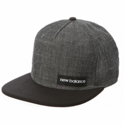 NEW BALANCE CZAPKA CHAMBRAY 5 PANEL FLAT BRIM